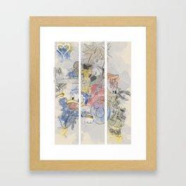 The secret is in friendship Framed Art Print