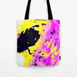 If Girls had their way with waves, Pink Minimal Water Tote Bag