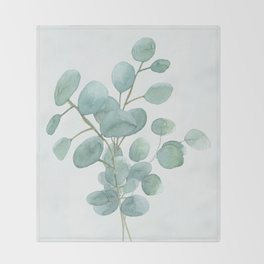 Eucalyptus Silver Dollar Throw Blanket