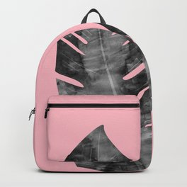 Composition tropical leaves XVI Backpack