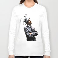 frank sinatra Long Sleeve T-shirts featuring Frank Sinatra by BAS~
