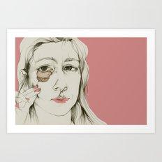 Sueños rotos Art Print