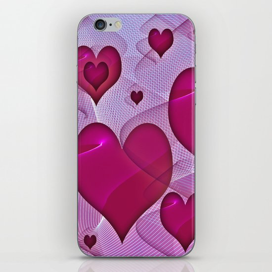 Hearts 4 iPhone Skin