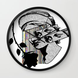 THE PSYCHODICAL FIGURE Wall Clock