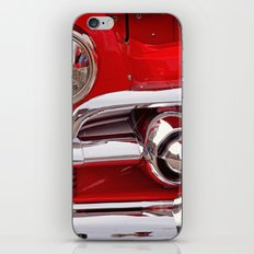 Candy Apple Red iPhone & iPod Skin