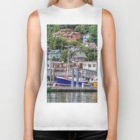 alaska Biker Tanks featuring Alaska by Christine Workman