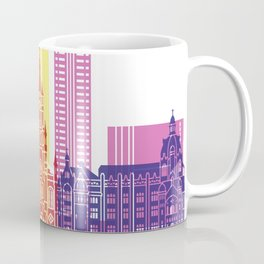 Medellin skyline pop Coffee Mug