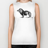 carnival Biker Tanks featuring Carnival by sustici