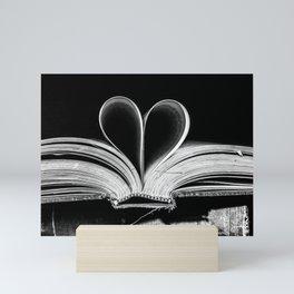 The Heart that Bends doesn't break. Mini Art Print