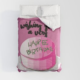 Happee birthdae harry cake movie Comforters