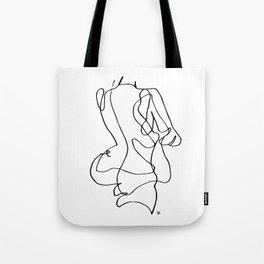 Lady Bod Tote Bag