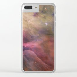 Orion Nebula M42 Clear iPhone Case