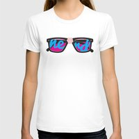 nerd T-shirts featuring Nerd by Aaron Synaptyx Fimister