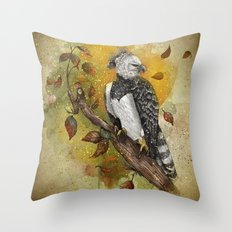 Harpy Eagle Throw Pillow