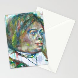 MARY MCLEOD BETHUNE watercolor portrait.1 Stationery Cards