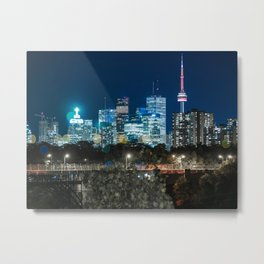 Urban Nights, Urban Lights 7 Metal Print