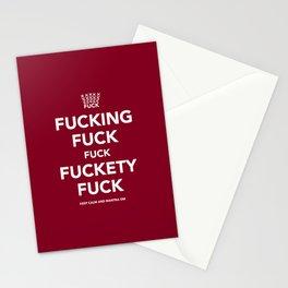 Fucking Fuck Fuck Fuckety Fuck- Cherry Stationery Cards