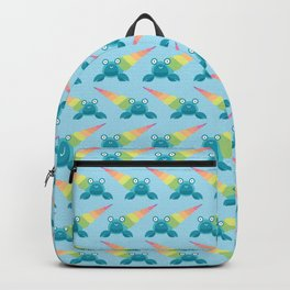Rainbow hermit crab Backpack