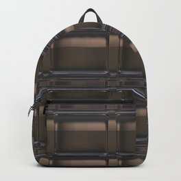 Brown tiles Backpack