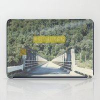 never stop exploring iPad Cases featuring Never Stop Exploring by Louise