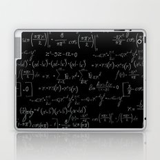 Chalk board mathematics pattern Laptop & iPad Skin