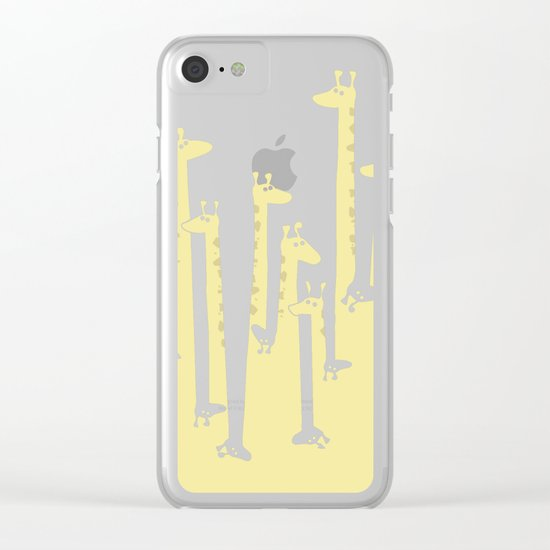 Such A Great Height Clear iPhone Case