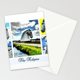 The Kelpies At The Millenium Link Stationery Cards