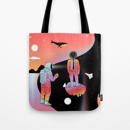 Coexistentiality 2 (A Passing View) Tote Bag