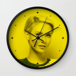 Nikki Whelan - Celebrity (Florescent Color Technique) Wall Clock