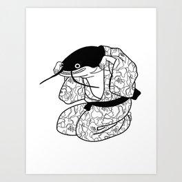Namazu-e the Hypefish Art Print