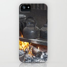 Camp oven iPhone Case