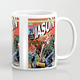 The Invincible Jason vs Freddy Coffee Mug
