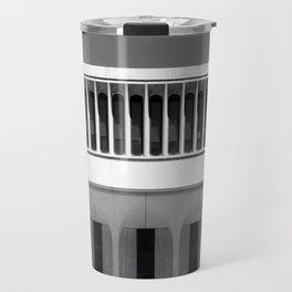 Architectural Notan - Robertson Hall, Princeton, NJ Travel Mug