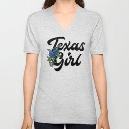 Texas Girl Unisex V-Neck