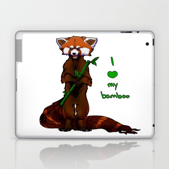 I love my bamboo (tablet) Laptop & iPad Skin