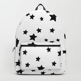 Black and White Stars Backpack
