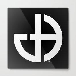 Jeff Hobrath Art Studio Logo Metal Print