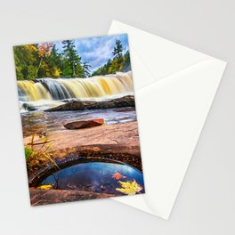 Mandio Falls - Porcupine Mountains Stationery Cards