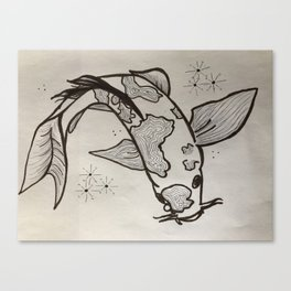 Magical Koi Fish Canvas Print
