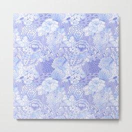 Icy Bloom Metal Print
