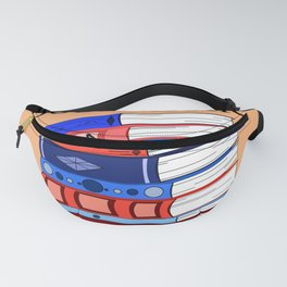 Bookaholic, a Definition Fanny Pack