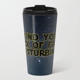 I find your lack of faith disturbing Travel Mug
