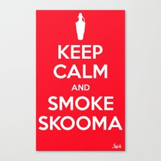 smoke skooma Canvas Print