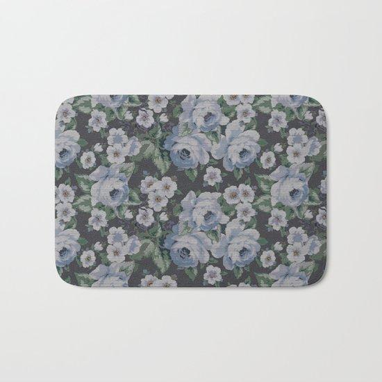 Floral Mozaic Pattern Bath Mat