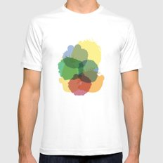 Yay Sesame2 Mens Fitted Tee White MEDIUM