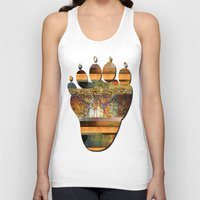 western Tank Tops featuring WESTERN GOLD by VIAINA