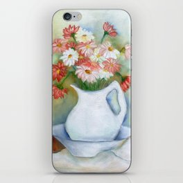 Vaso com flores I (Vase with flowers I) iPhone Skin
