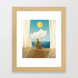 Love your self Framed Art Print