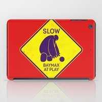 baymax iPad Cases featuring Baymax by MiliarderBrown