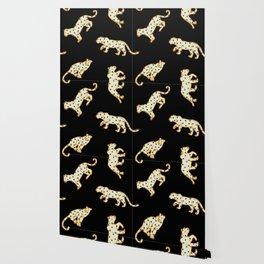 Leopard at Night Wallpaper